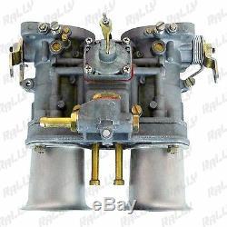 1433 PAIR CARBURETOR WEBER TYPE 44IDF VOLKSWAGEN BEETLE FIAT PORSCHE WithAIR HORN