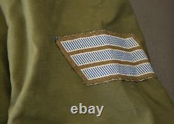 1973 Vietnam Era US Army Coat Jacket M65 OG107 w IDF Israeli Army Mark Size L