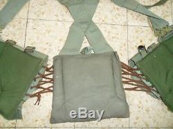 1977 FIRST GENERATION LACES and X Cross Back Straps Idf Ephod Vest Zahal. Israel