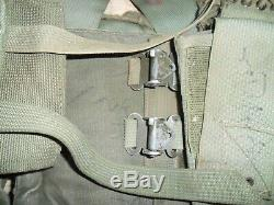 1977 Israeli Army LACE and X Back Straps Idf Ephod Vest Web Zahal MADE IN ISRAEL