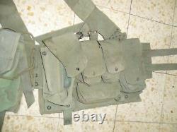 1978 Israeli Army First Generation LACE and X Back Straps Idf Ephod Vest Zahal