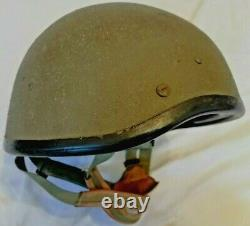 1989 Israel Zahal Idf Army Battlefield Helmet Hat Size B