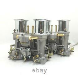 1 Pair 44IDF Carburetor Carburettor With Air Horn For Jaguar Porsche Beetle VW