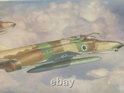 2002 Hasegawa F-4E Phantom II IDF Israeli Air Force Fighter 172 Model Kit