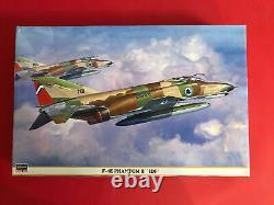 2004 Hasegawa F-4E Phantom II IDF Israel Air Force Fighter 148 Model Kit
