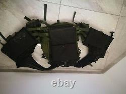 2012 Ephod IDF Israel Army Combat Tactical Assault Vest LATEST MODEL + Insignia