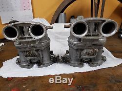 2 Weber Vergaser carburettor carburateur 36 idf orig Alfa Romeo Alfasud