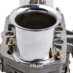 2 x New 44IDF Carburetor For VW Fiat Porsche Bug Beetle WithAir Horn 44 IDF