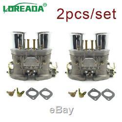 2pcs Carb 40IDF Carburetor for Bug Beetle Volkswagen Fiat Porsche EMPI WEBER new