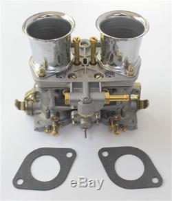 2pcs/lot 40 Idf Oem Carburetor + Air Horns Replacement For Solex Dellorto Weber