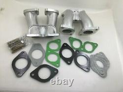 2x 40 Idf Inlet Manifold set Intake Compatible Weber Carburetor Porsche 356 912