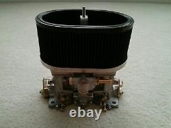 40IDF Carburetor With Air Horns And Air Filter Interchange With Weber Parts