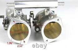 40MM IDF Throttle Bodies replace 40 mm Weber dellorto carb fits 1600cc Injectors