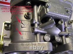 40 IDF WEBER Carburetor Genuine European Made in Spain 40IDF 70 Redline