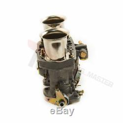 40 IDF twin carburetor for VW Beetle Bug Fiat Porsche with air horns best Castings