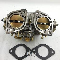 44IDF Carburetor Chrome alcohol For Bug/Beetle/VWithFiat/Porsche solex weber fajs