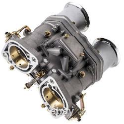 44IDF Carburetor cab With Air Horns For VW Fiat Porsche Bug