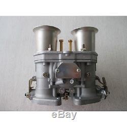 44IDF carburetor with air horns fit for Solex Dellorto Weber EMPI 44MM Fiat
