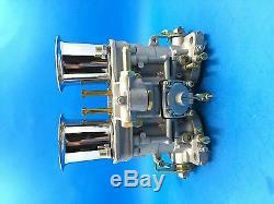 44IDF oem carburetor + air horns replacement for Solex Dellorto Weber EMPI 44MM