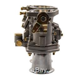 48IDF Carburetor For VW Bug Beetle Fiat Porsche Replacement With Air Horn
