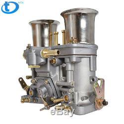 48 IDF Carburetor Carb fit for Solex Dellorto Weber EMPI 48MM w Air Horns