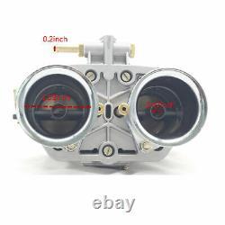 48 IDF Carburetor Carb for Solex Dellorto Weber EMPI 48MM w Air Horns