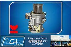 4 Barrel Holley Adaptor with Twin 48 IDF Weber Carburettors Kit