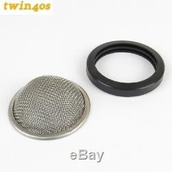 4 x Trumpet Ram Pipe Gauze Filter Dellorto DHLA45/48 DRLA45/48 Weber DCOE45 IDF