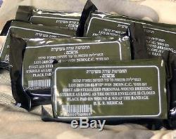 50 Israeli Military IDF Trauma Bandage 4 Vacuum Pressure Compression Dressing