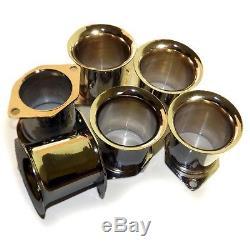 6x Velocity Stacks air horn pipe trumpet bolton WEBER 40 DCOE IDF DELLORTO SOLEX