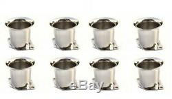 8 X New Velocity Stacks Air Horn Pipe Trumpet Slides For Weber 40/44/48 IDF