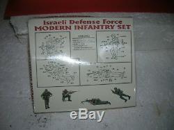 ACADEMY 1/35 Scale Plastic Model Kit #1368 Israeli Defense Force Modern Infantry