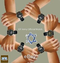 ADI Tactical/Military Men's Watch 229 Israel Defense Forces Logo IDF, Quartz
