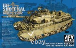 AFV Club 1/35 AF35267 IDF Shot Kal Gimel 1982 withBlazer Explosive Reactive Armour