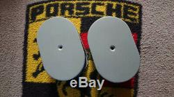 A pair of used Air Filters oval for IDF/DRLA Carburettor in grey