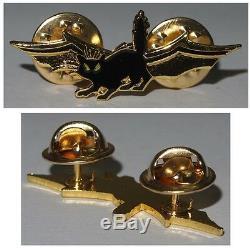 Abzeichen Israeli Defense Force Nachtspäher Miniaturabzeichen goldenfarben