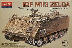 Academy 1372 IDF M113 Zelda 135 Neu, Bauteile versiegelt