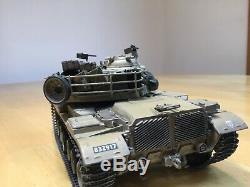 Academy 1/35 Scale Idf M60a1 Blazer With Reactive Armor Tiles Built