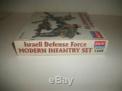 Academy ISRAELI DEFENSE FORCE MODERN INFANTRY SET 1/35 kit 1368 NIB