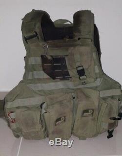 Army IDF Israel Army Military Vest AGILITE Protective Edge Operation