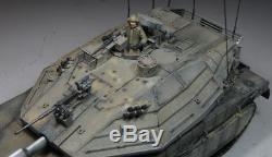 Award Winner Built Academy 1/35 IDF Merkava IV LIC MBT +PE +Figures