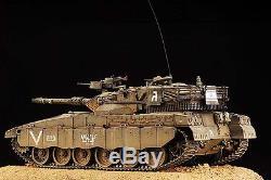 Award Winner Built Academy 1/35 IDF Merkava MKII MBT Diorama +PE