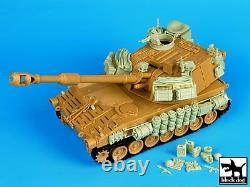 Black Dog 1/35 M109A2 SP Howitzer IDF Conversion Set (for Kinetic) withPE T35080