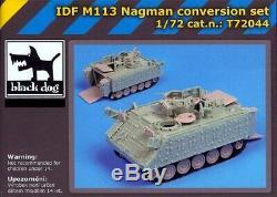 Blackdog Models 1/72 ISRAELI DEFENSE FORCE M113 NAGMAN Resin Detail Set