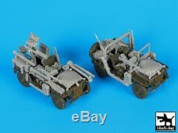 Blackdog Models 1/72 ISRAELI DEFENSE FORCE M-151 Resin Accessory Kit