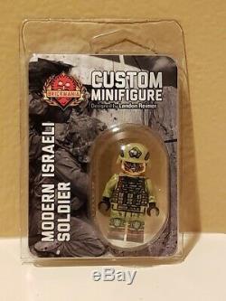 Brickmania Custom LEGO Minifigure Modern Israeli IDF Soldier Retired