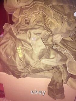 Bulk Lot 20 kg / 44 lbs Idf Zahal Israeli Army Uniform Shirts and Pants Clothes
