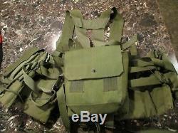 C. 1980's Israeli LBE assault vest by Hagar Rare IDF