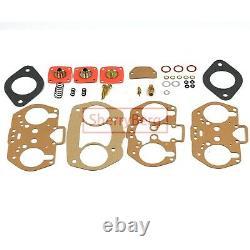Carb Conversion Kit for VW TYPE 4 FAJS HPMX WEBER EMPI IDF DUAL 40mm T4 linkage