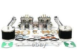 Carb Conversion Kit for VW TYPE 4 FAJS HPMX WEBER EMPI IDF DUAL 44mm T4 linkage